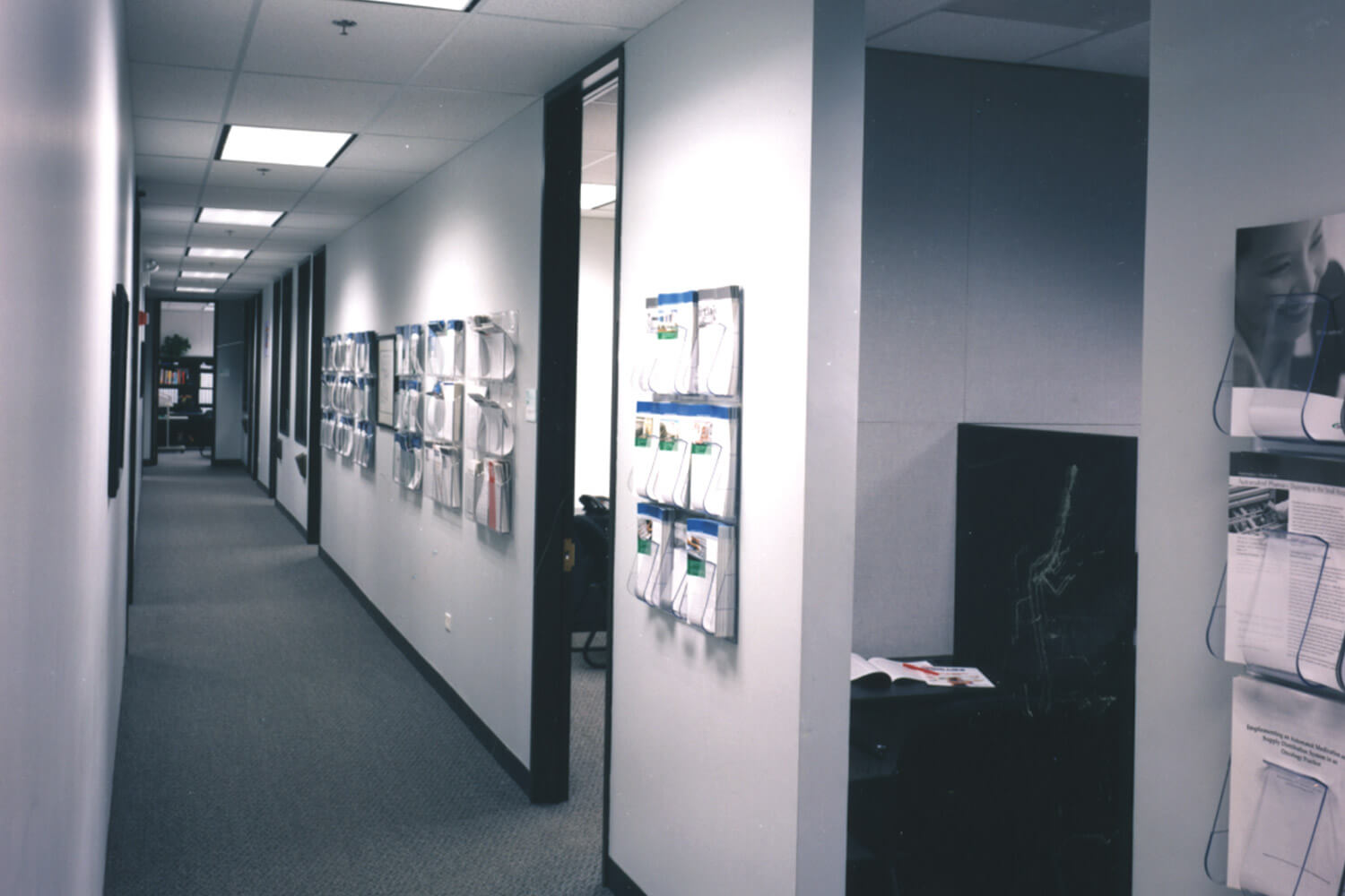 Omnicell Pharmaceutical Dispensing Systems hallway