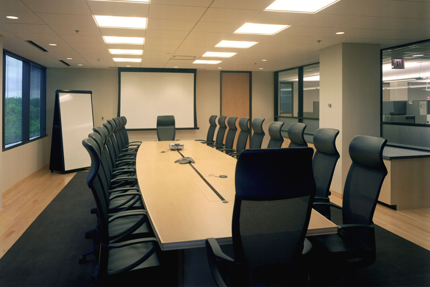 Open Text conference room