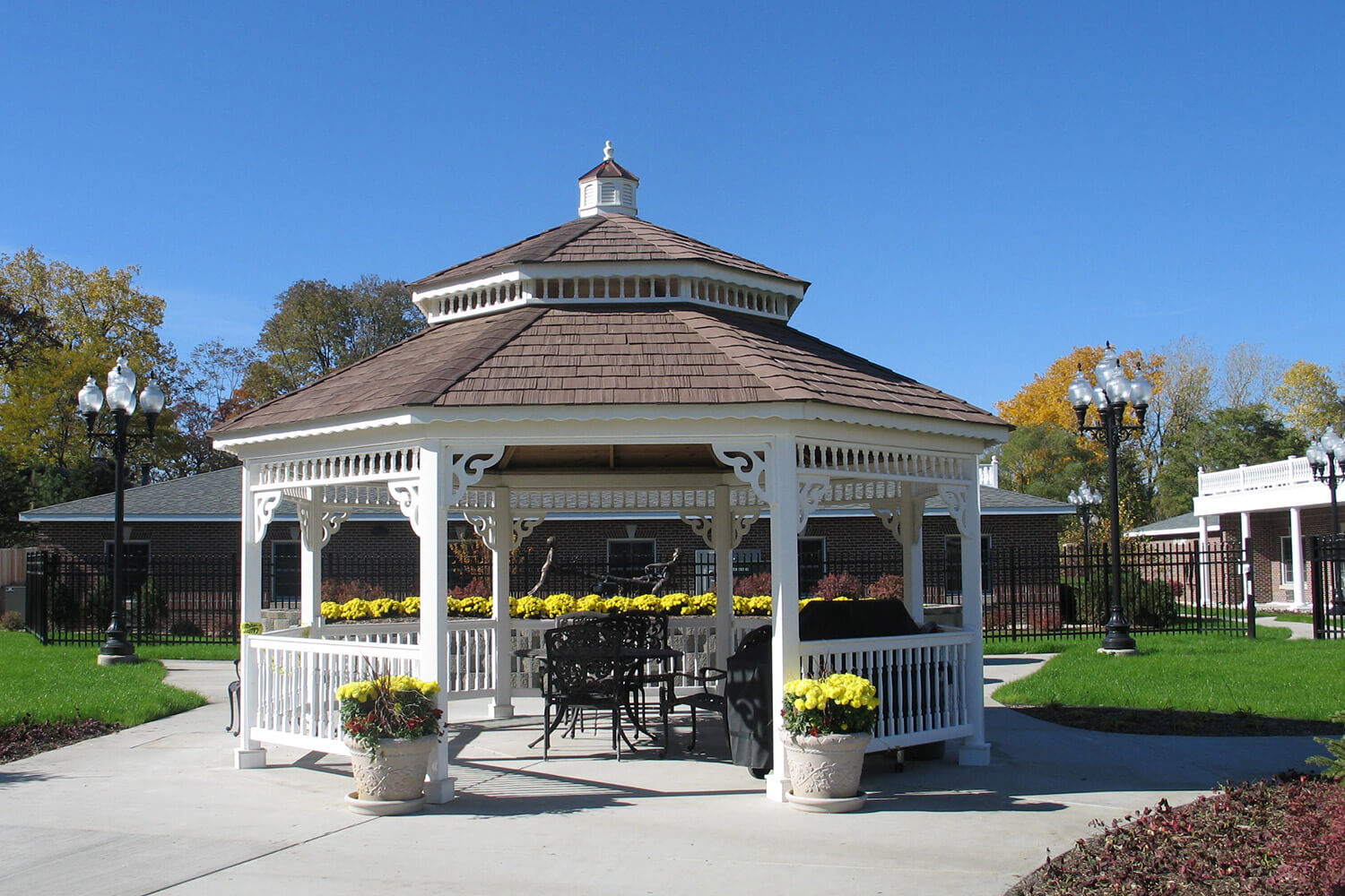 Paradise Park Assisted Living gazebo