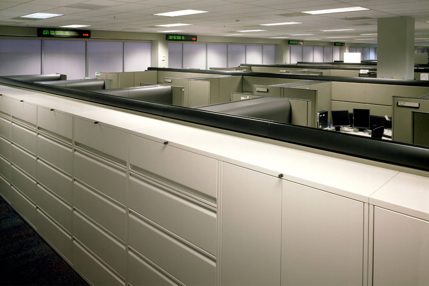 Protective Life Insurance Company cubicles