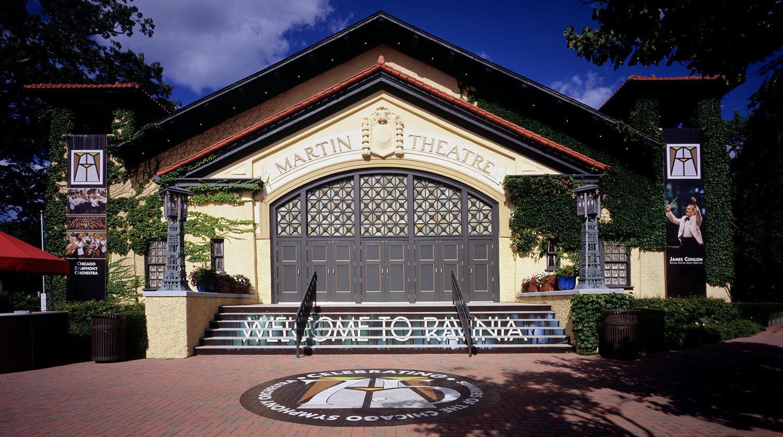 Ravinia Festival_ Martin Theatre theatre exterior