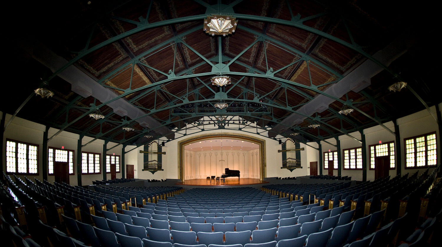 Ravinia Martin Theater Interior 2