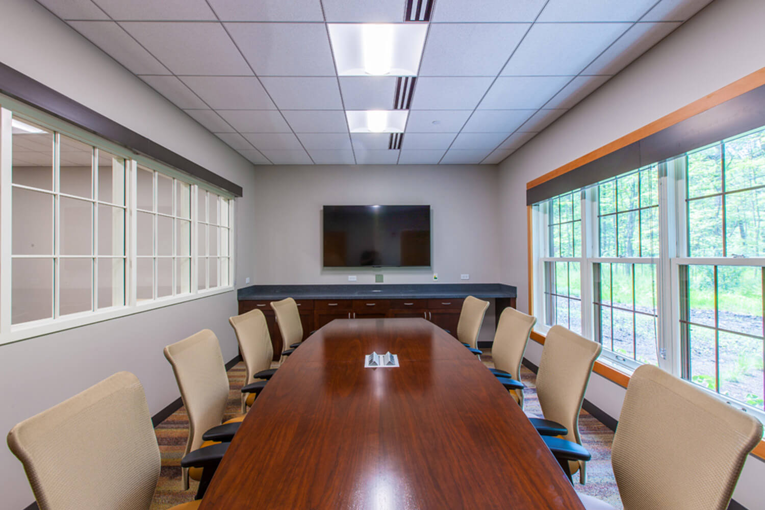 Riverwoods Village Hall conference room