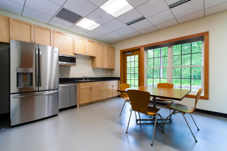 Riverwoods Village Hall kitchen
