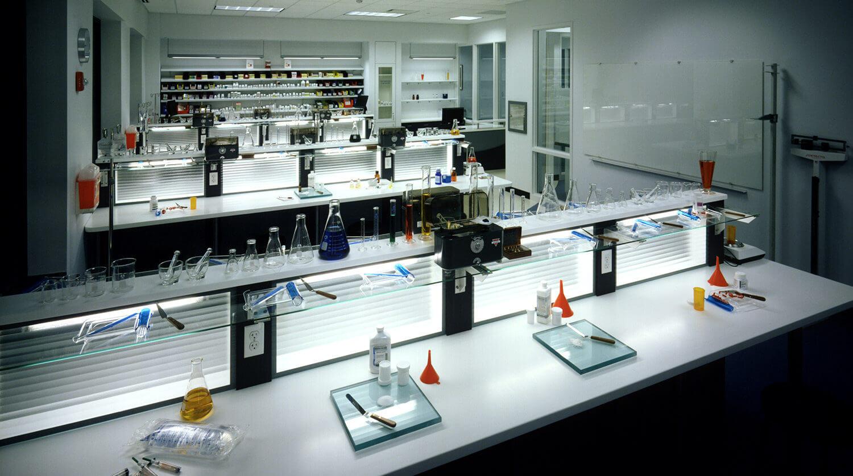 Robert Morris University Medical Training Facility pharmacy technical lab