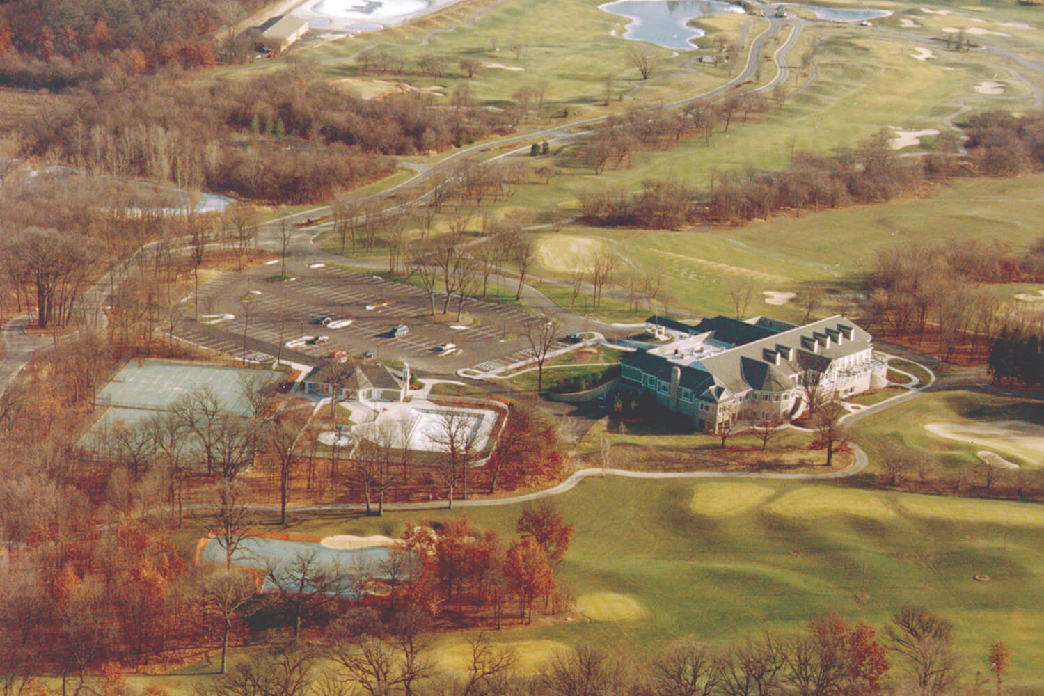 Royal Melbourne Country Club aerial