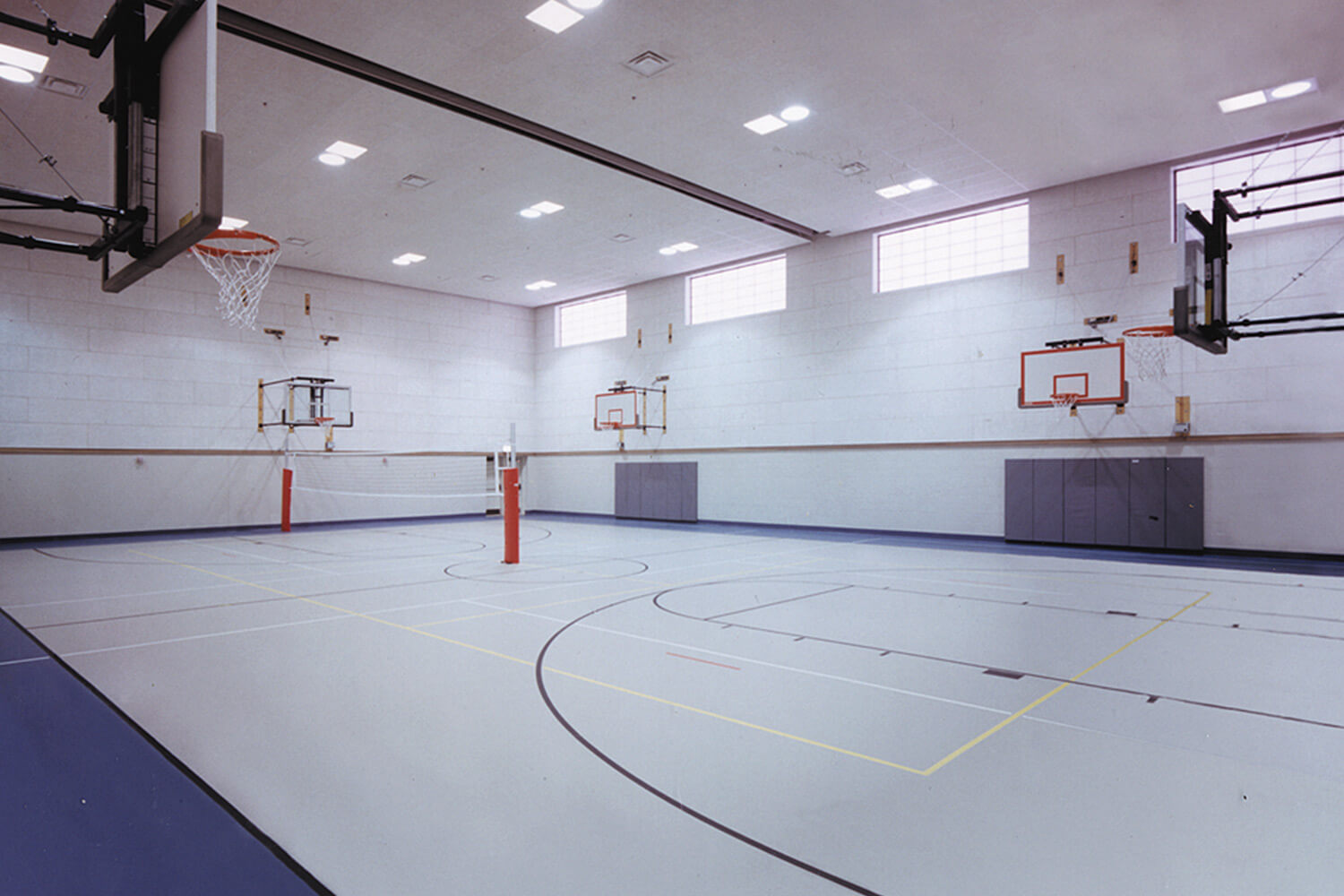 Salvation Army Training Center basketball court