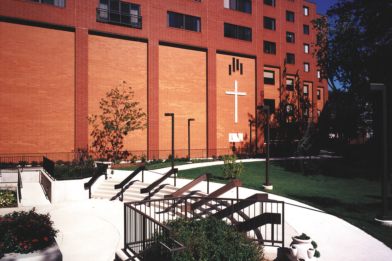 Salvation Army Training Center exterior
