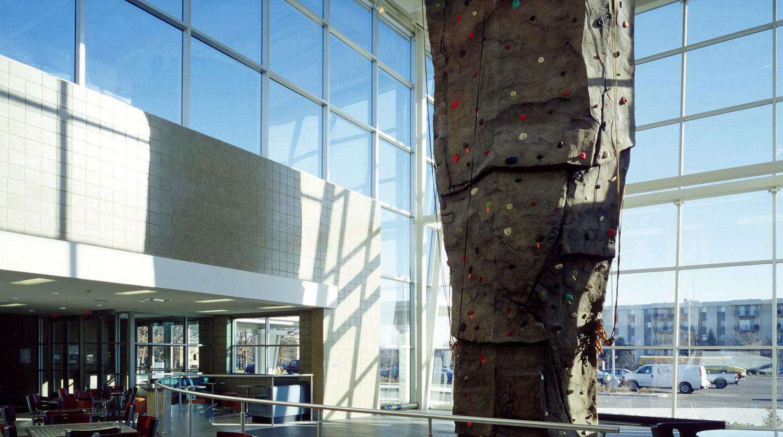 Waukegan Park District Hinkston Park rock climbing structure