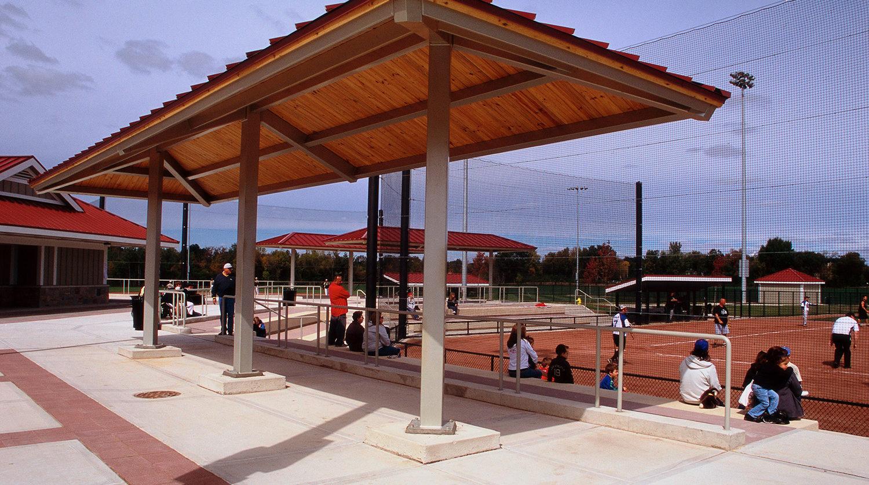 Waukegan Park District Outdoor Sports Complex baseball field