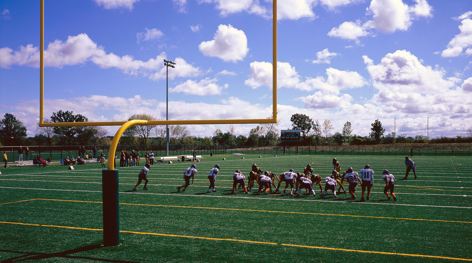 Waukegan Park District Outdoor Sports Complex football field