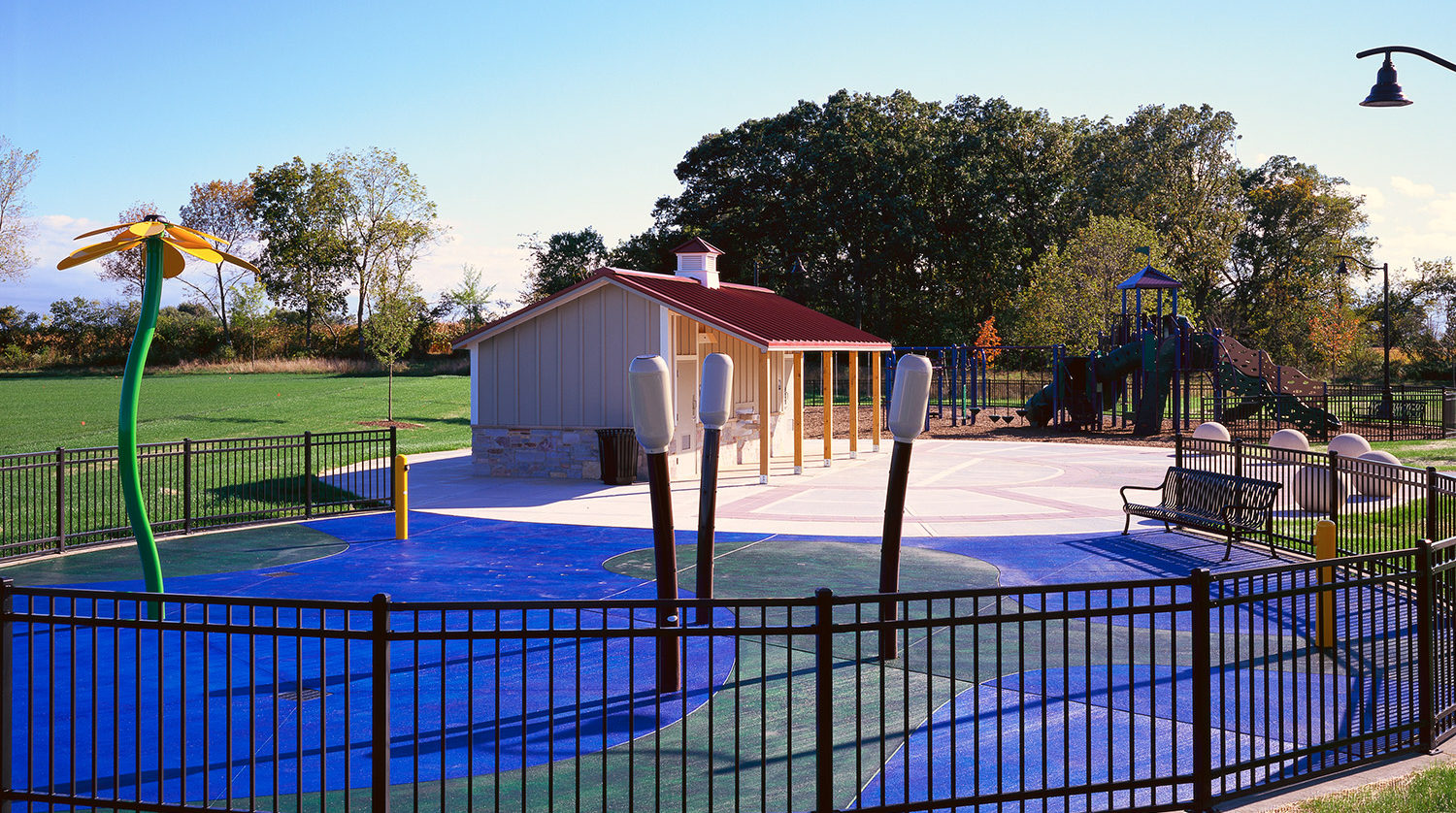 Waukegan Park District Outdoor Sports Complex playground