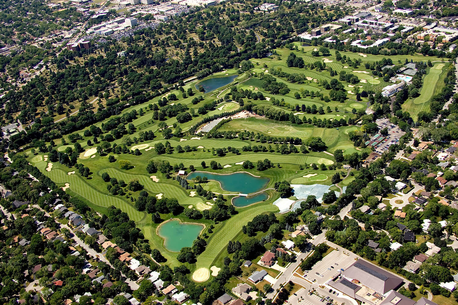 Westmoreland Country Club aerial 1