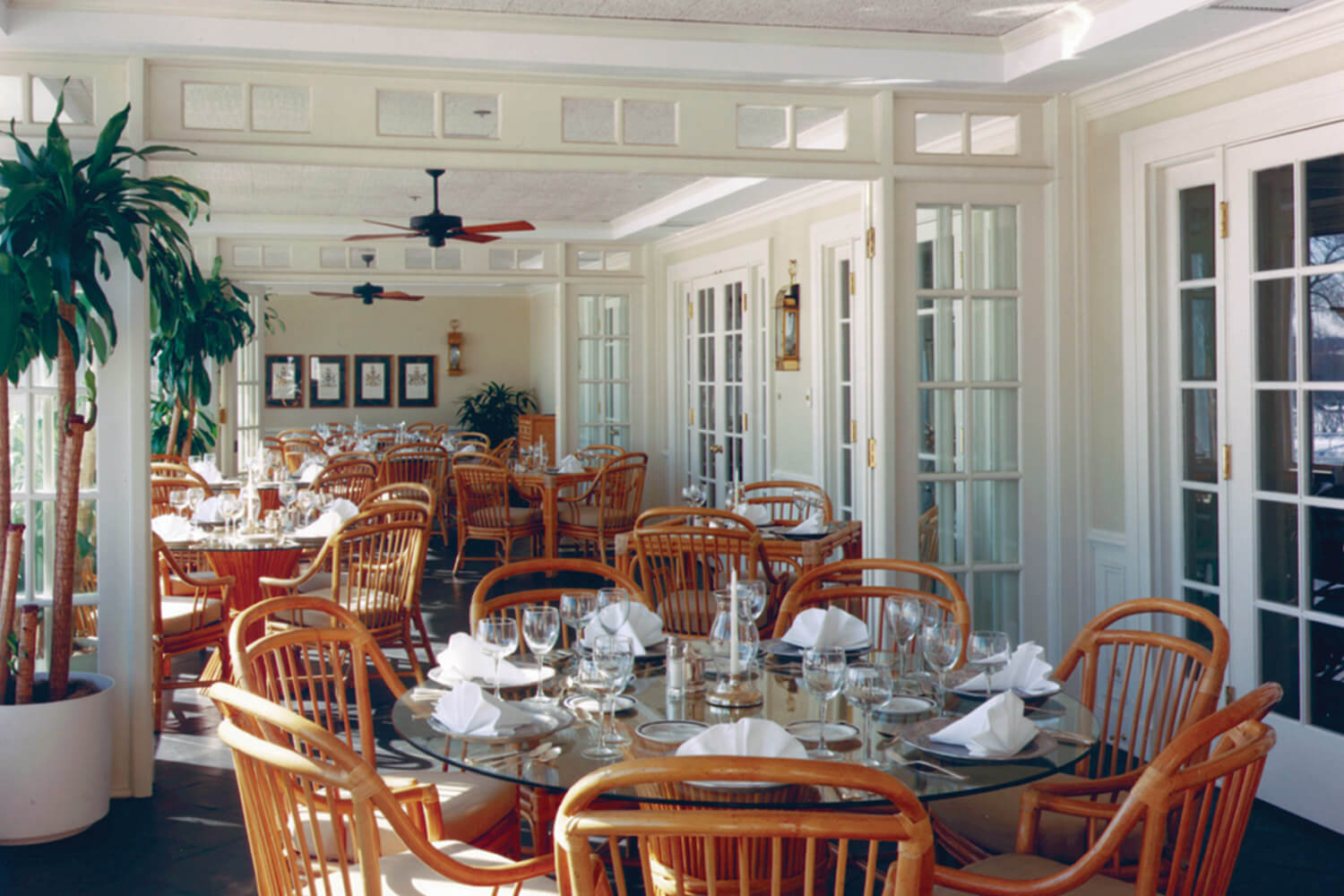 Westmoreland Country Club dining patio