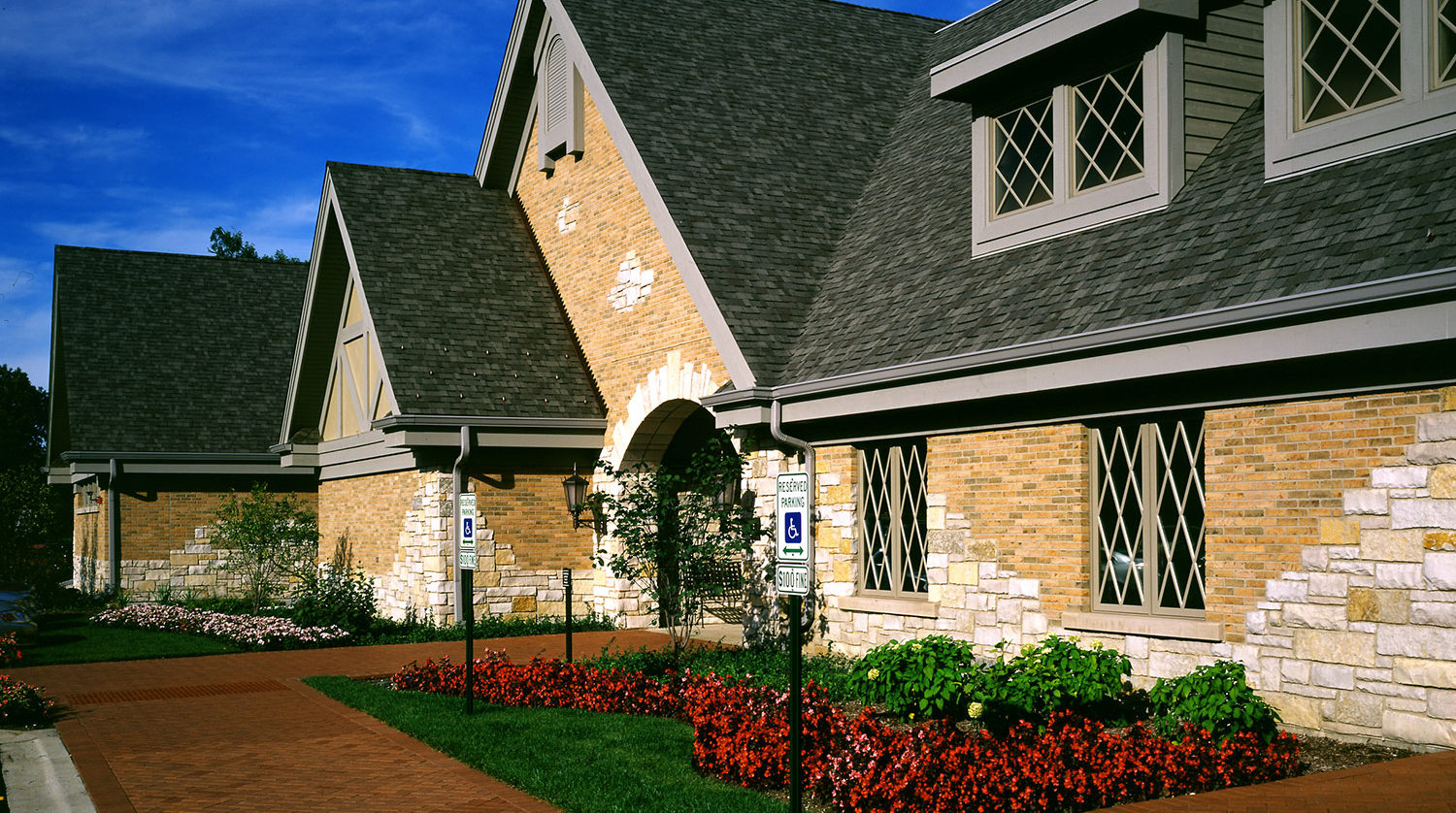 Wilmette Park District Golf Clubhouse exterior