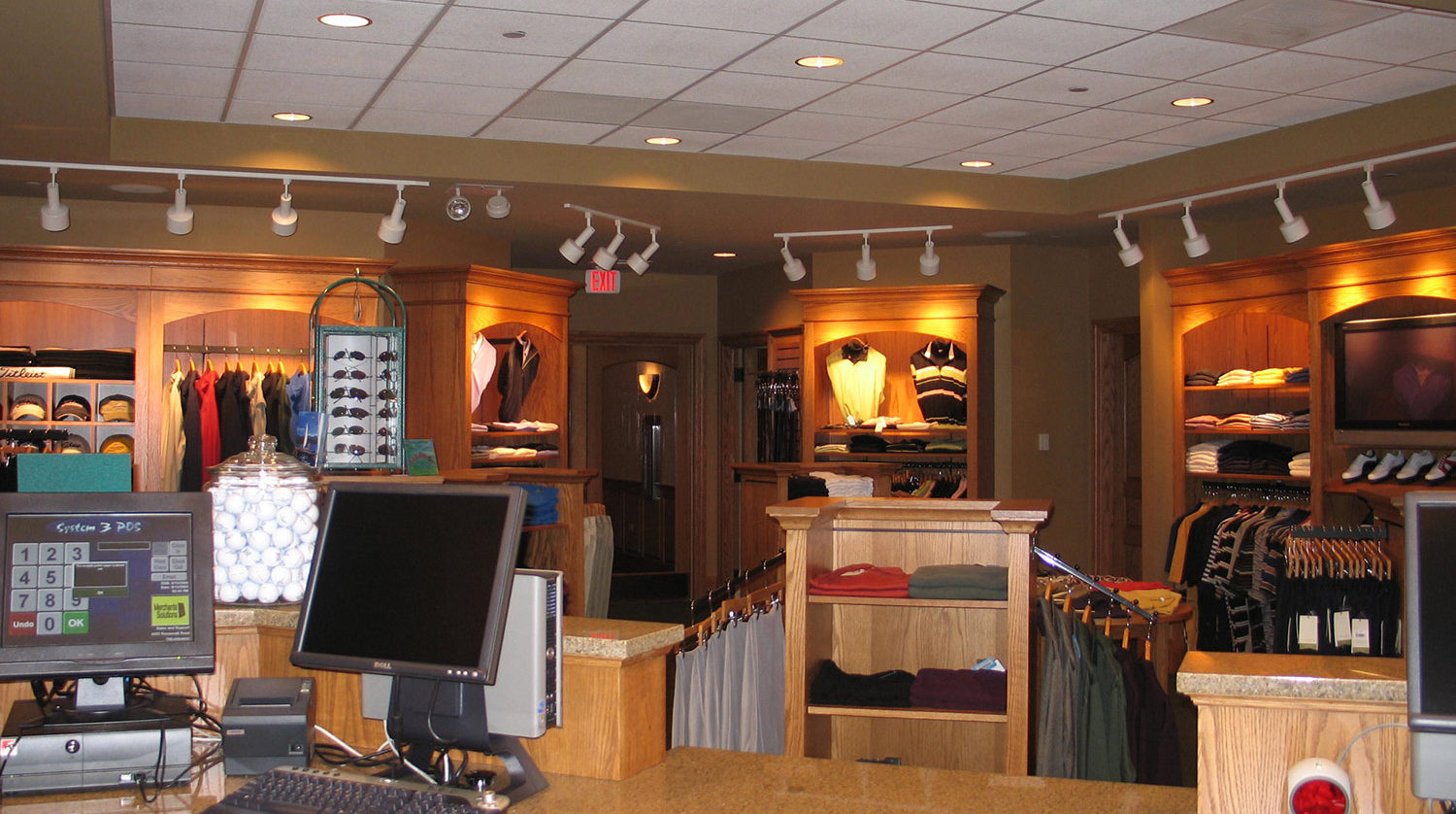 Wilmette Park District Golf Clubhouse shop