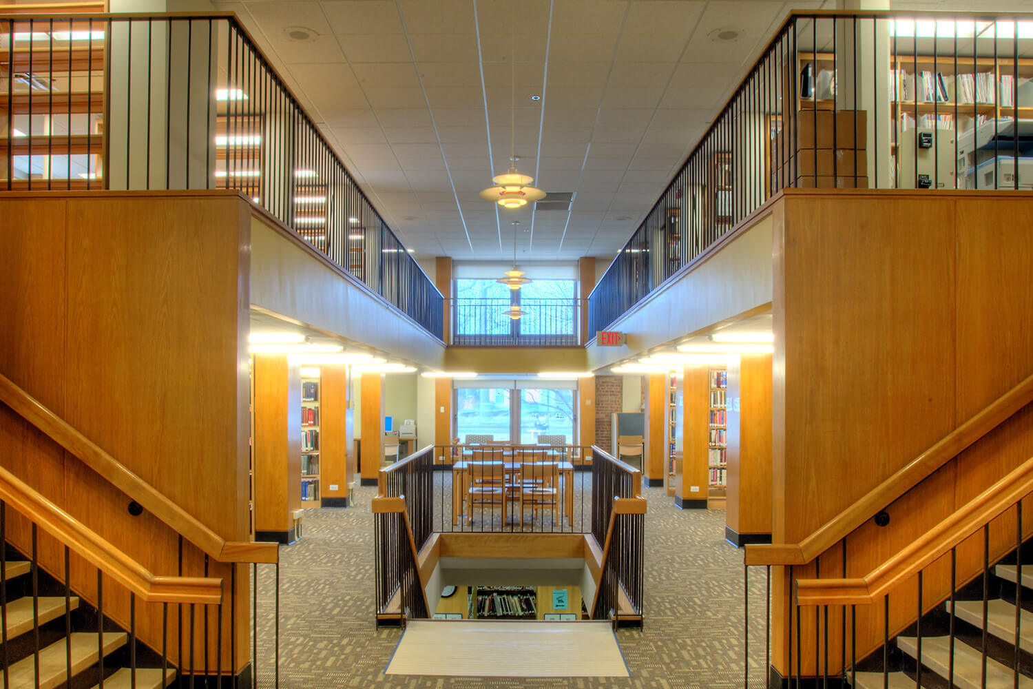 Wilmette Public Library District Renovation interior 10