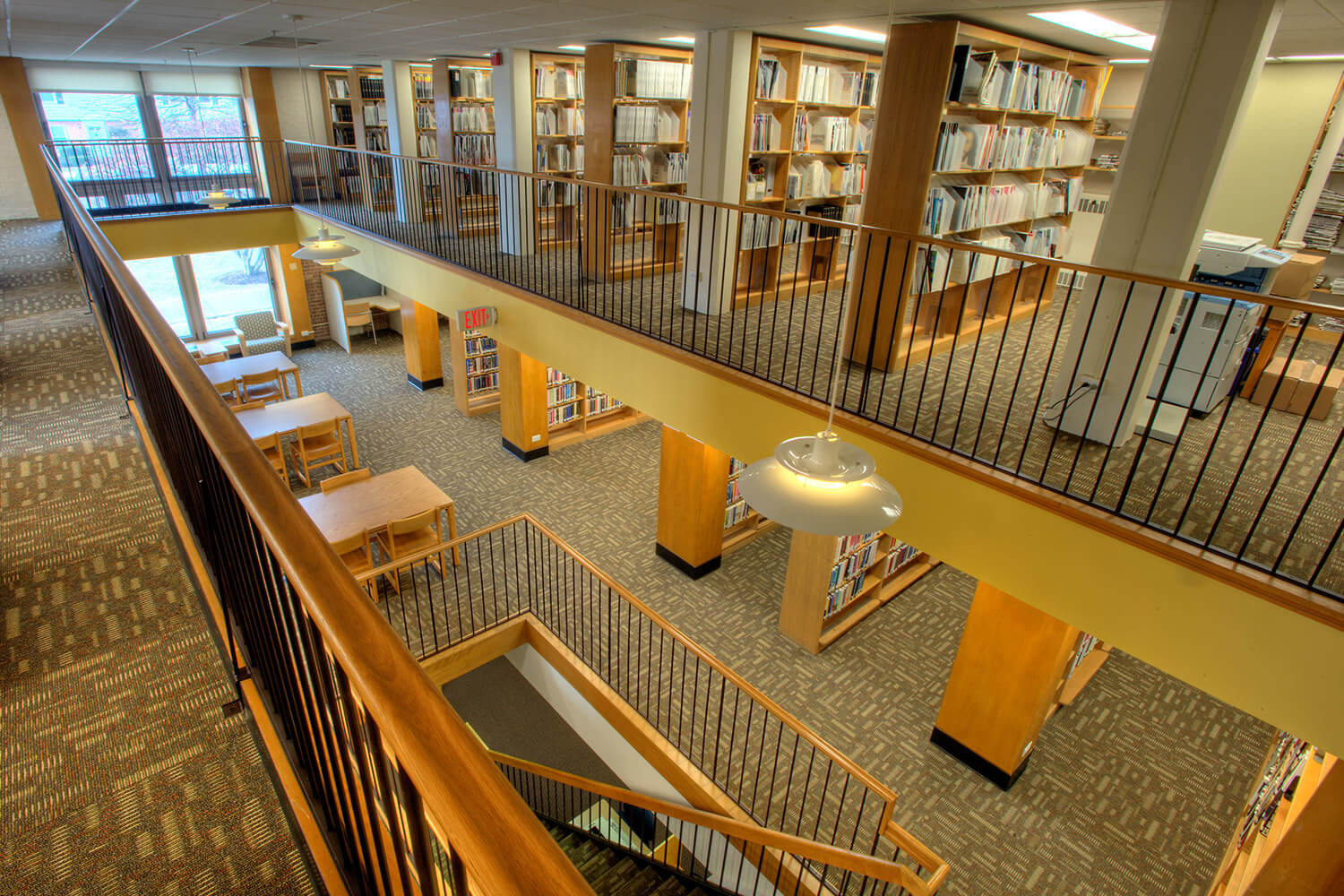 Wilmette Public Library District Renovation interior 13