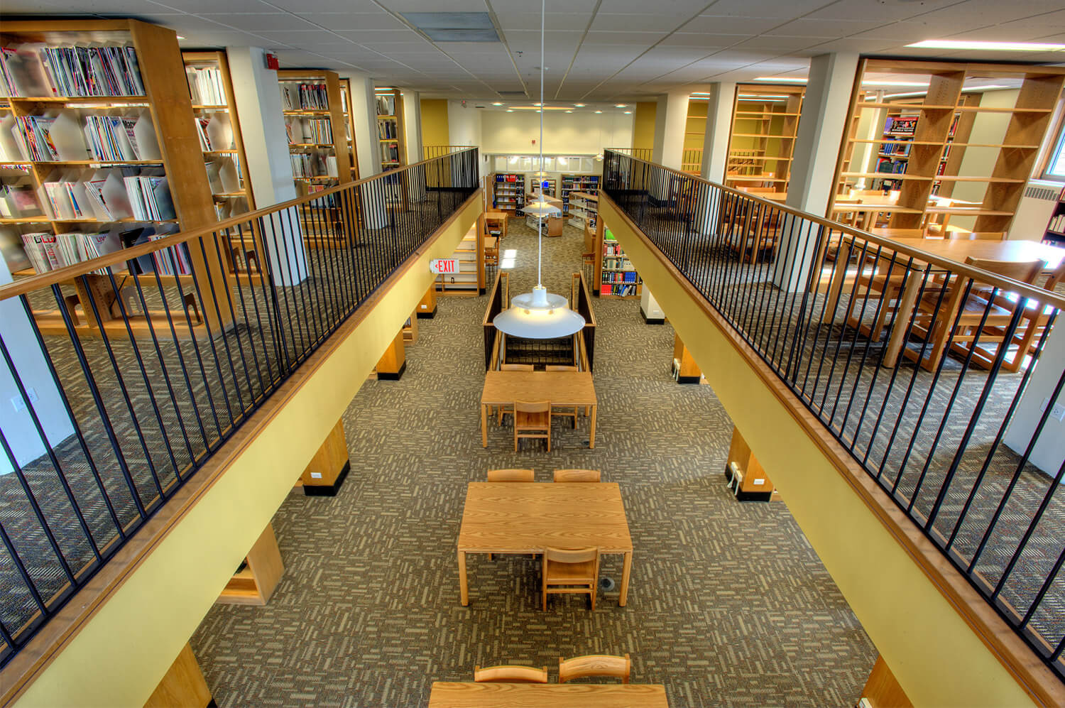Wilmette Public Library District Renovation interior 14