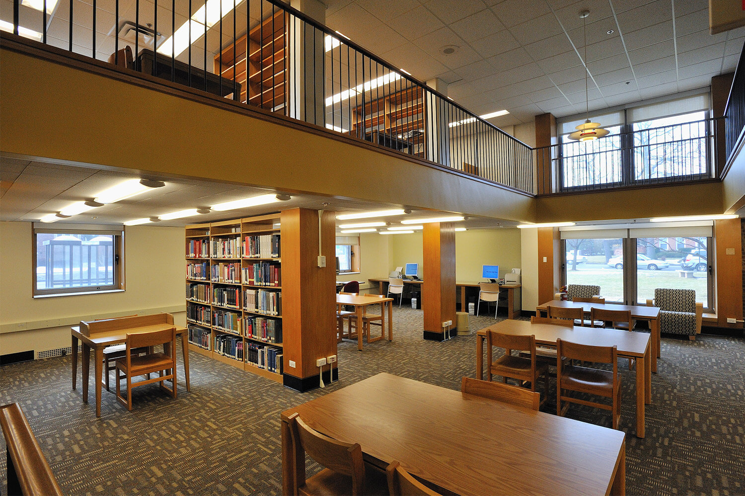 Wilmette Public Library District Renovation interior 17