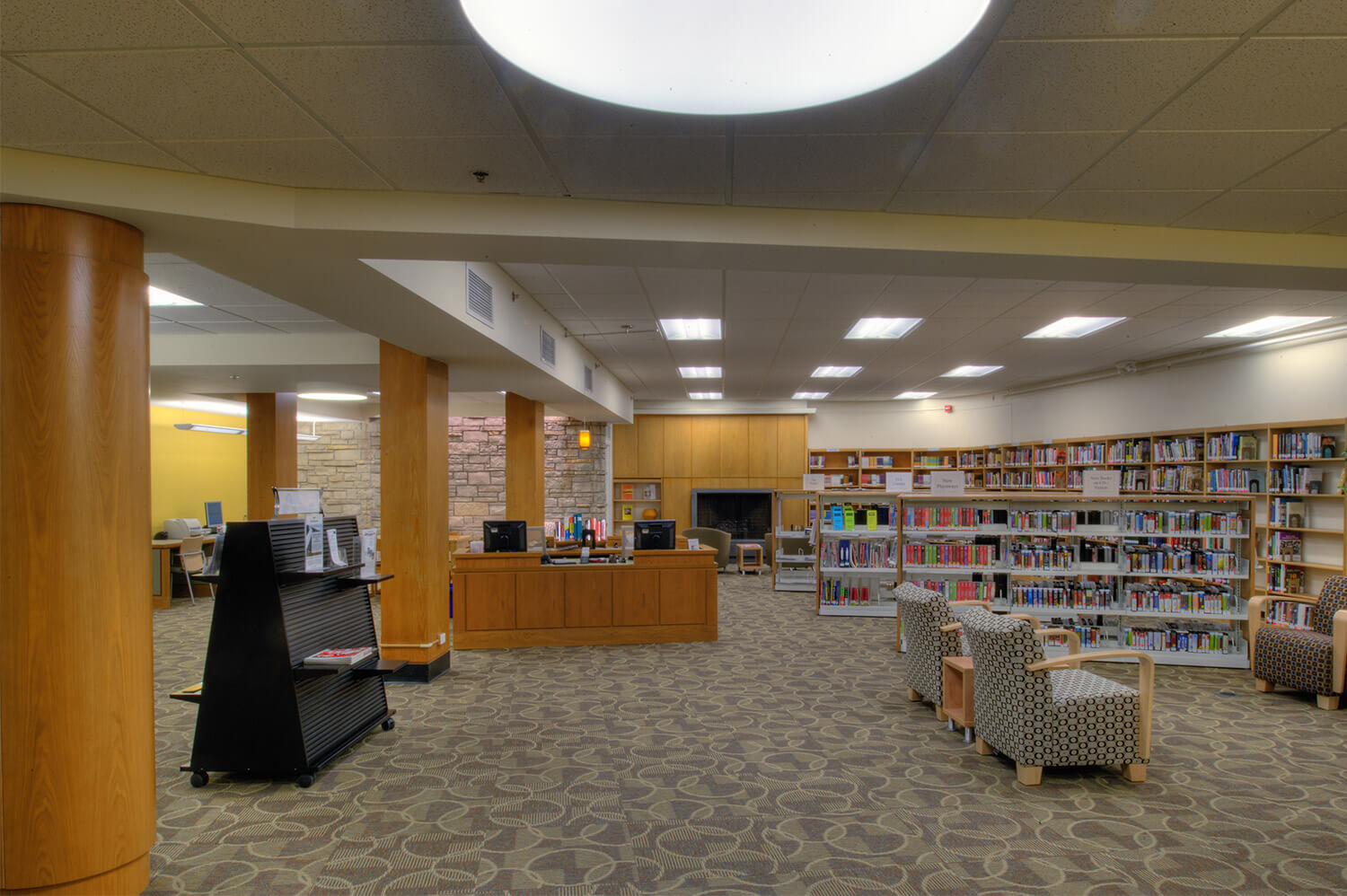 Wilmette Public Library District Renovation interior 5