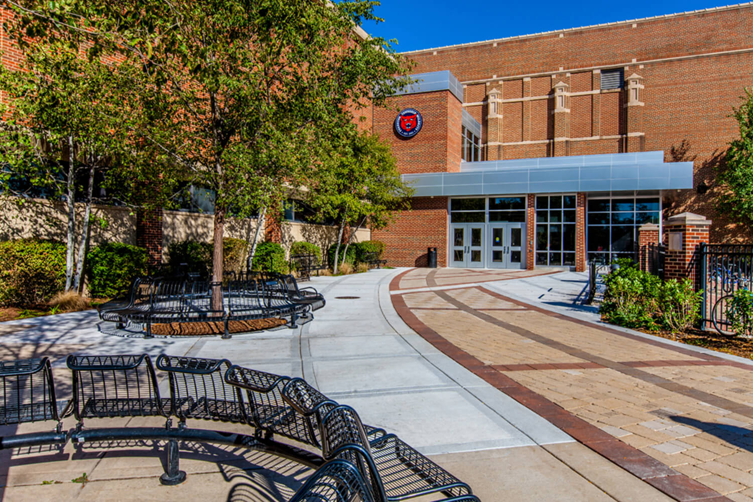 Evanston Township High School – Entry & Renovation Project exterior