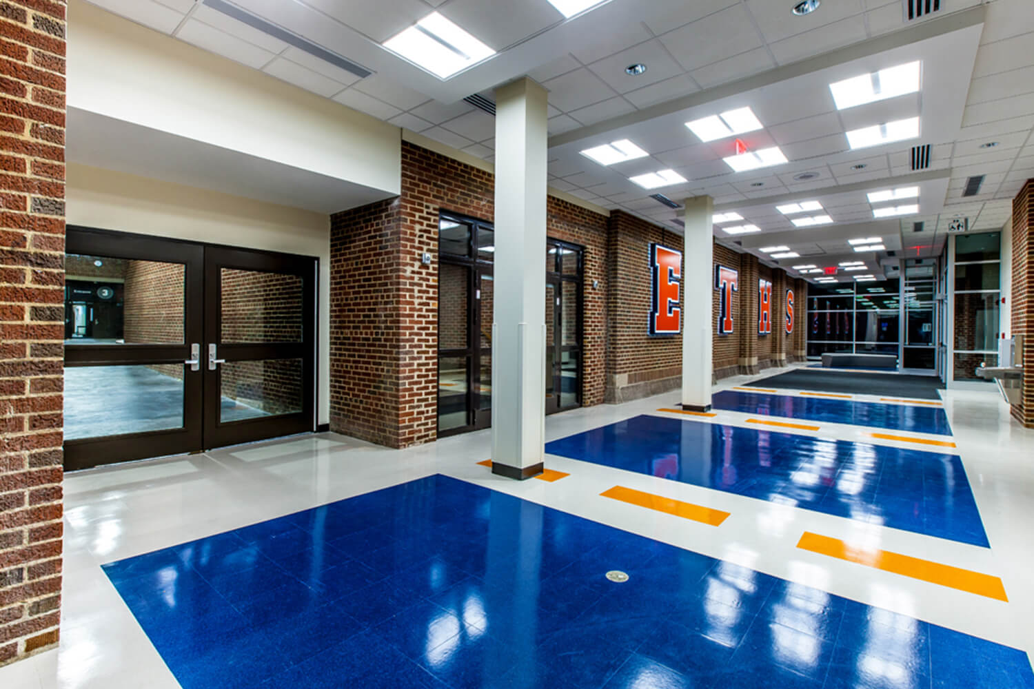 Evanston Township High School – Entry & Renovation Project interior 1
