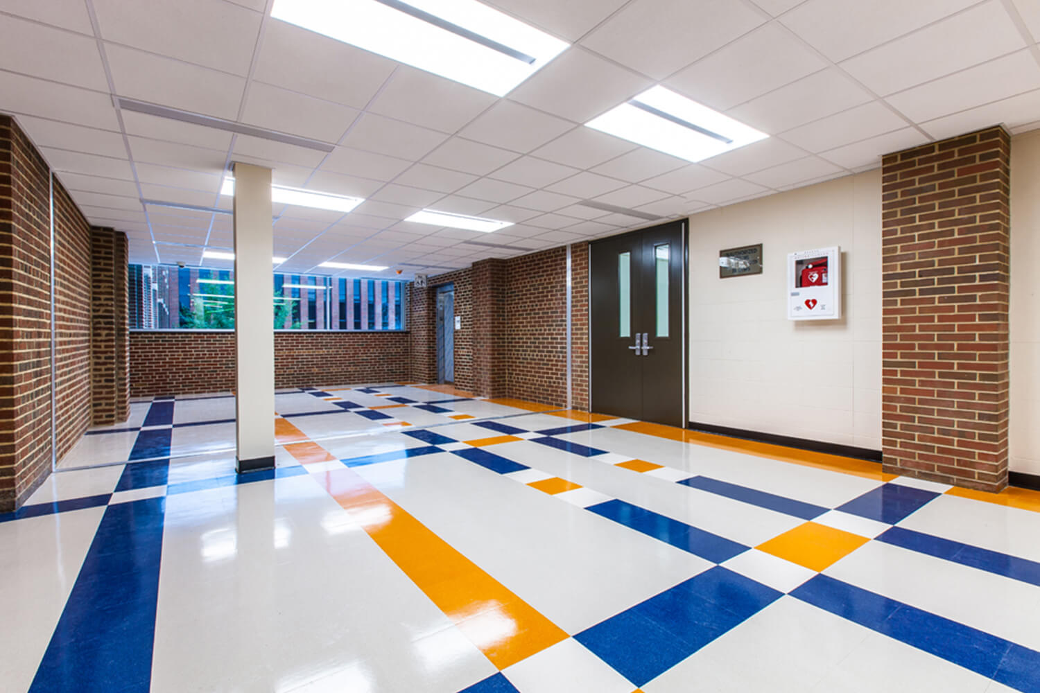 Evanston Township High School – Entry & Renovation Project interior 3