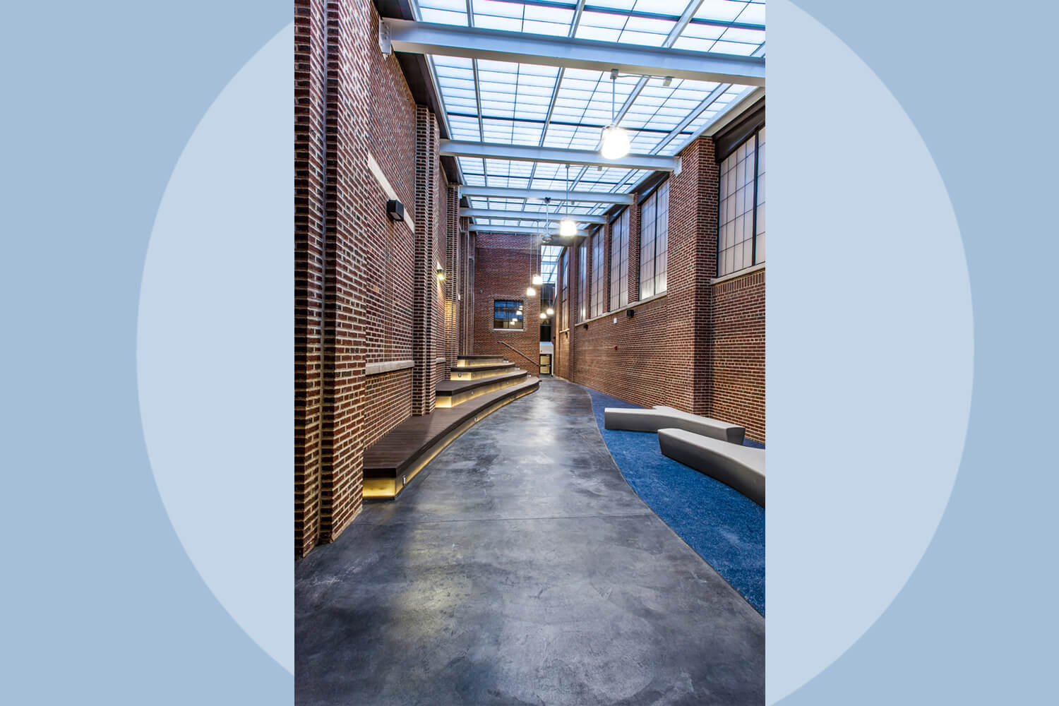 Evanston Township High School – Entry & Renovation Project interior 4