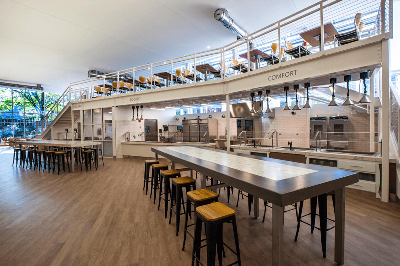 Allison Dining Hall cafe 2