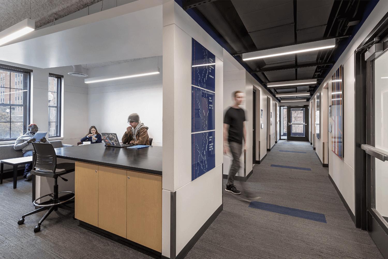 North Park University – Hansen Hall lounge