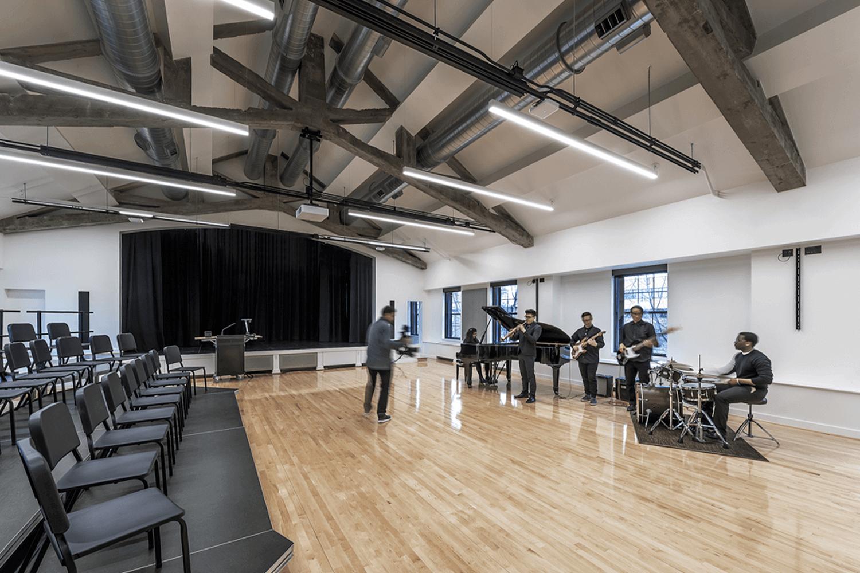 North Park University – Hansen Hall music hall_