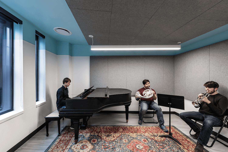 North Park University – Hansen Hall music room 1