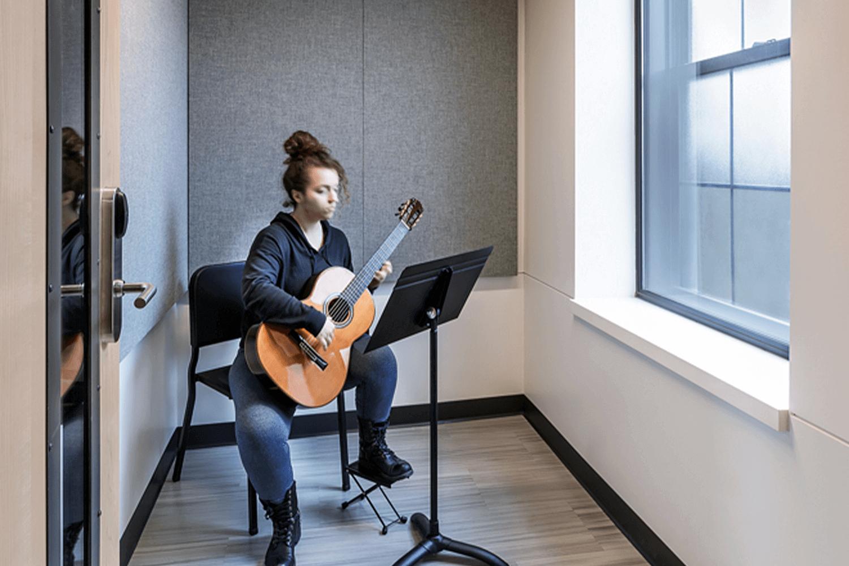 North Park University – Hansen Hall music room 3