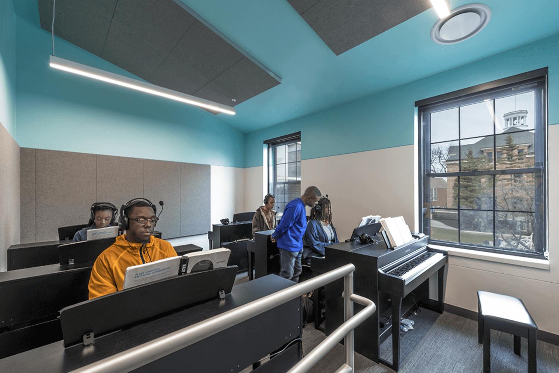 North Park University – Hansen Hall music room 5