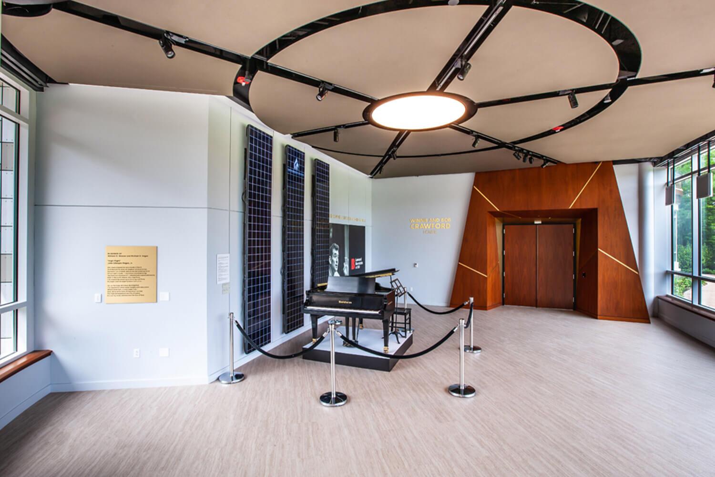 RaviniaMusicBox Experience Center Hallway