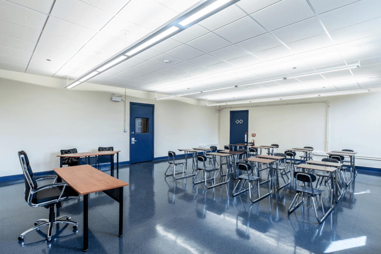 Chicago International Charter School (CICS) – Classroom and Office Renovation classroom