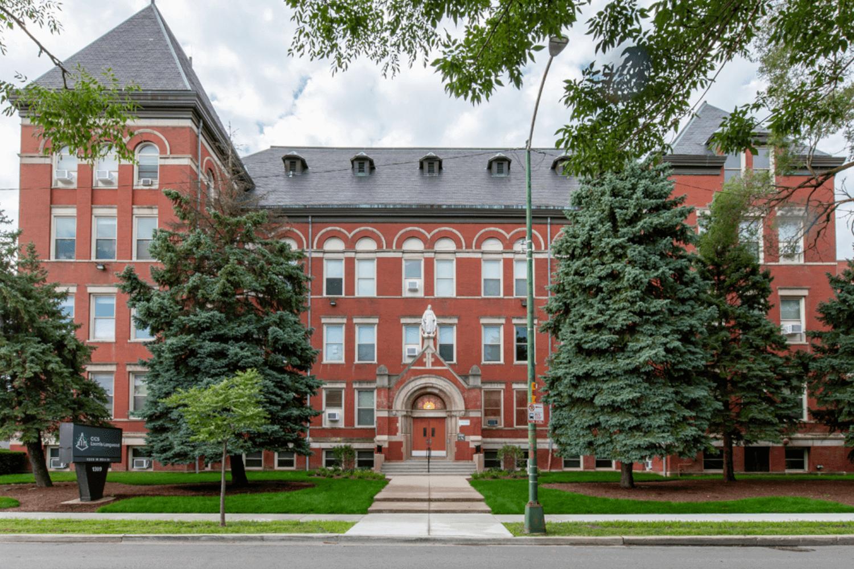 Chicago International Charter School (CICS) – Classroom and Office Renovation exterior2