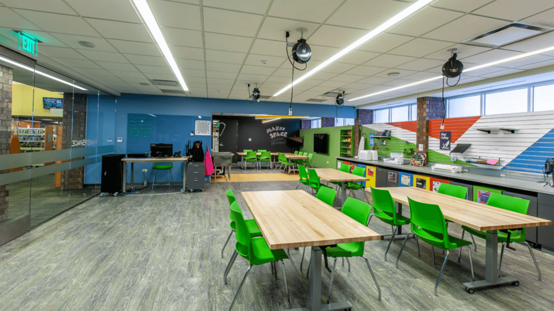 Deerfield Public Library Make Space Renovation Project