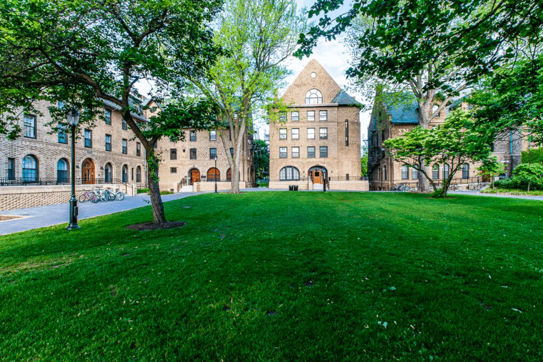 Northwestern University – Phi Gamma Delta Renovation exterior